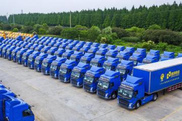 大手笔!德邦快递3.5亿购450辆沃尔沃卡车