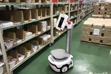 日本多个万博体育官网登录网页版中心导入Syrius炬星的自主移动机器人