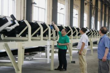 宝鸡杭叉公司顺利通过国家安标证换发样机检测