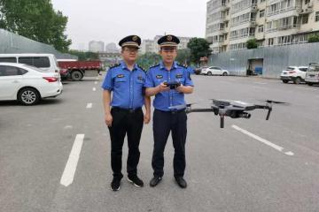 """成立一年多,郑州城管无人机中队利用新""""武器""""巡查排查效果咋样?"""
