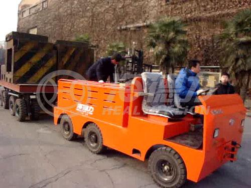 EVQ型25t电动牵引车