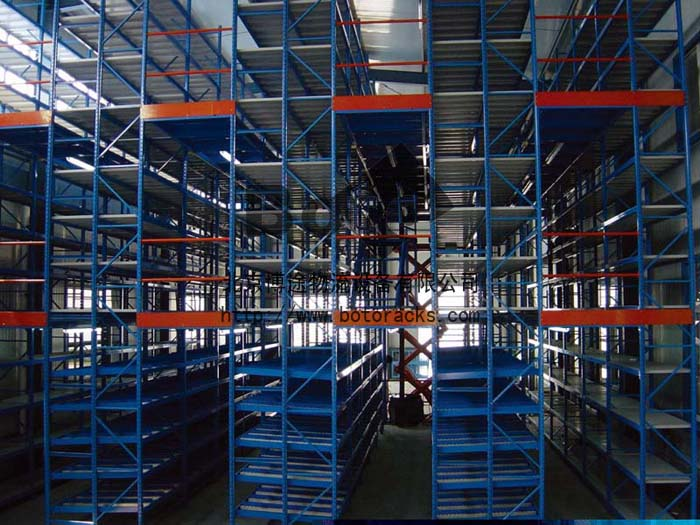 阁楼式货架Multi-tier Racking