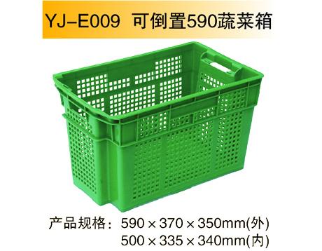YJ-E009 可倒置590蔬菜箱