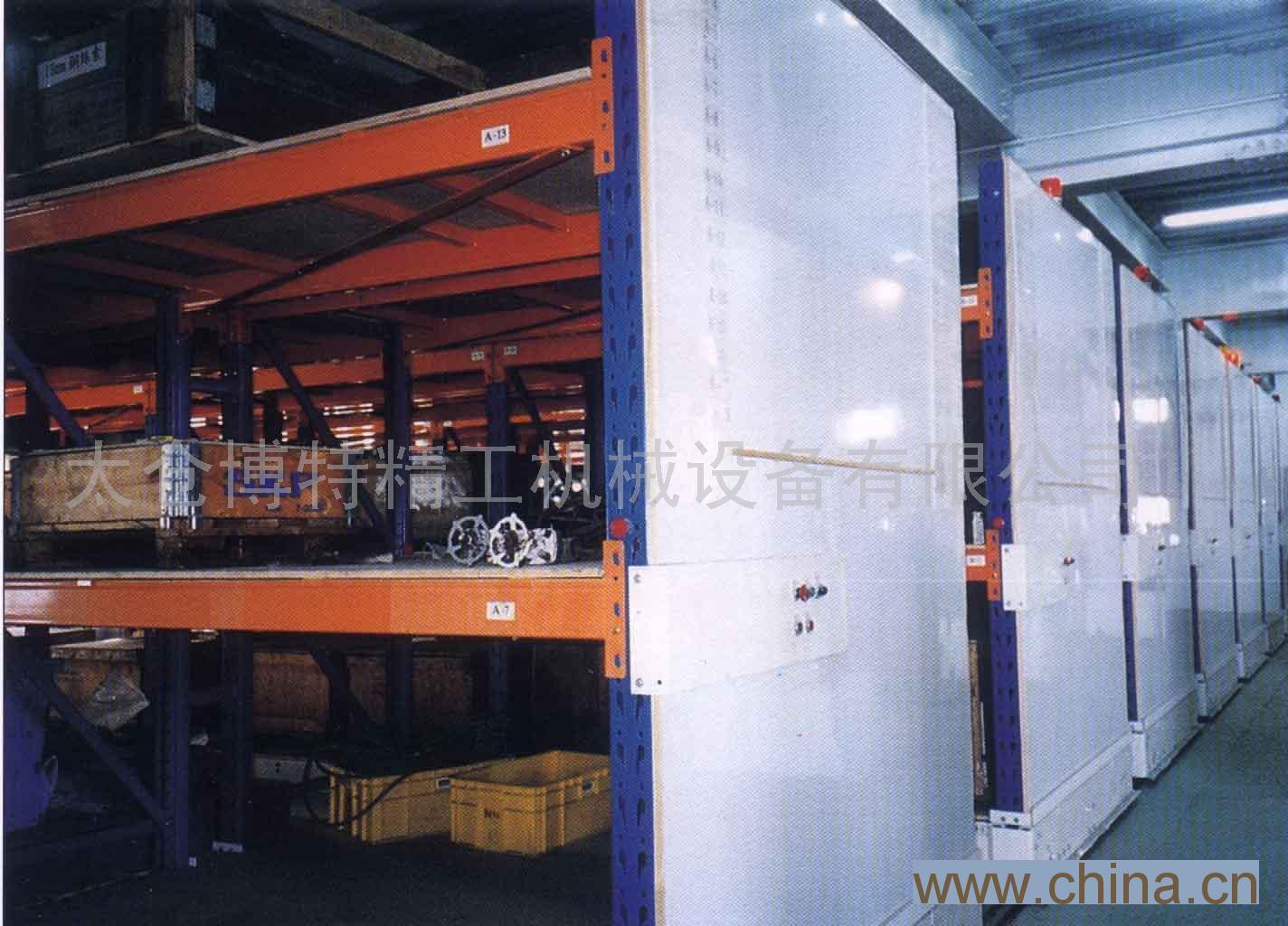 重量型电动式移动柜