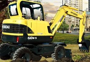 R60w-9 轮式挖掘机