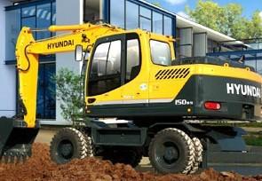 R150w-9 轮式挖掘机