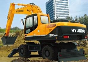 R210w-9 轮式挖掘机