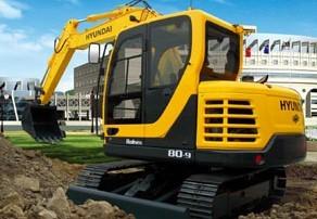 R80-9 履带式挖掘机