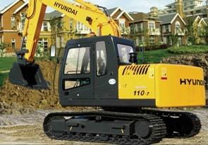 R110-7 履带式挖掘机