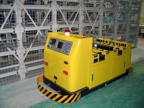 昆船BT143推挽型双工位磁带导引自动运输车