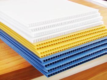 厂家直销3-5mmPP中空板,塑料中空板,万通板