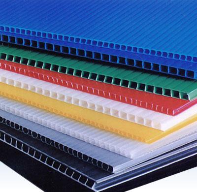 塑料中空板,PP瓦楞板,万通板做周转车,货架垫板物美价廉
