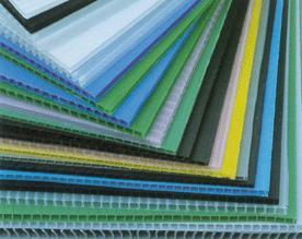 厂家生产PP中空板,中空瓦楞板,中空格子板可做垫板,周转箱