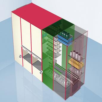 亨乃尔联体货柜Haenel Multi-space