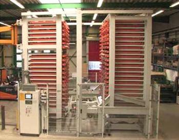 自动化立体棒材库