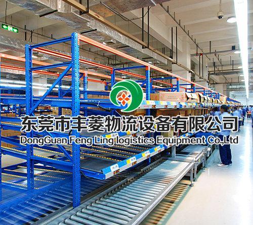 东莞市丰菱万博体育官网登录网页版设备 流利式货架