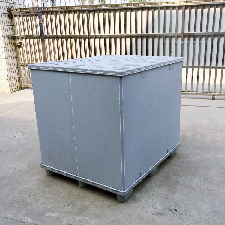 广东汽车零部件万博体育官网登录网页版周转箱蜂窝板围板箱