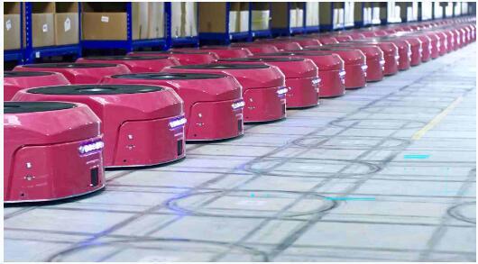 万博体育官网登录网页版机器人--上位调度系统(RMS)