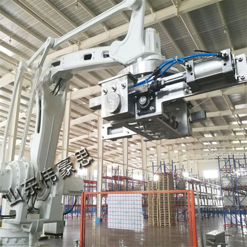 石粉自动码垛机器人 免人工码垛机设备