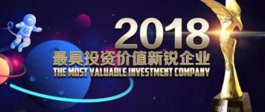 2018年度最具投资价值的新锐万博体育官网登录网页版企业